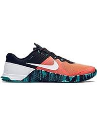 Nike Metcon 2 Cross Training Shoes, Mange/Gr?n/Wei (Mango Brillante/Hiper Jade/Blanco 813), 46 unknown EU/11 unknown UK