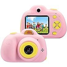 Cámara para niños ToyZoom Cámara de Fotos Digital 2 Objetivos Selfie 8MP Cámara Digital 1080P HD