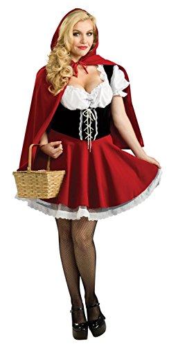 Top Totty Rotkäppchen Kostüm
