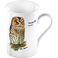 The Wildlife Trusts - Tawny Owl - Fine Bone China