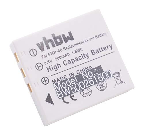 Batterie Li-ion compatible pour Samsung Digimax i5/Digimax I50/Digimax I6 etc. remplace Fuji NP-40/NP-40 N Pentax D-Li8, Panasonic S004 Pentax Panasonic Remplace Fuji NP-40/NP-40 N Pentax D-Li8, Panasonic S004