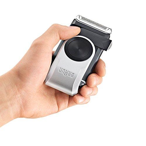 Braun MobileShave M-90 Men's Portable Electric Foil Shaver Travel Battery Razor