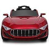 Auto elettrica per bambini Telecomando a quattro ruote Il bambino può sedersi Persone Toy Car Carrozzina Cullette a rotelle [Vernice a quattro ruote motrici] Altalena + Telecomando + Sedile in pelle a cinque punti + Generazione di auto-potenza