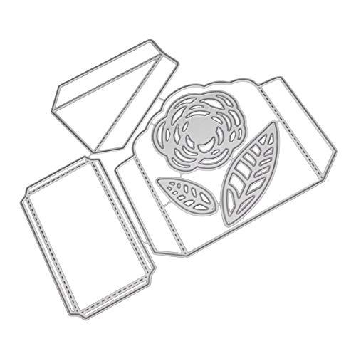Xmiral Stanzschablone Schablonen Stanzformen,Hunter Kind Geschenkbox Erdbeere(J)