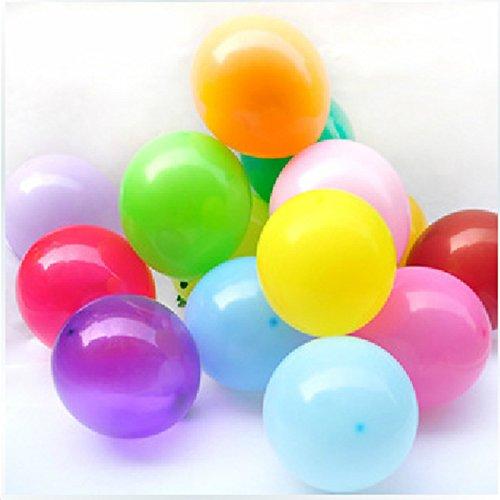 Sungpunet 100pcs/lot 10Inch Helium/de látex Globo aerostático Publicidad Hinchable Publicidad Boda Fiesta...
