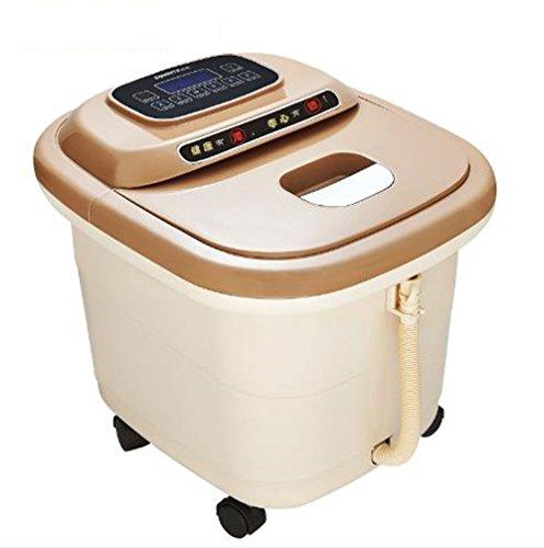 XJRHB Fußbad elektrische Fußbad automatische Wasser Akupunktur Massage Gesundheit Fußbad Massage Pediküre -