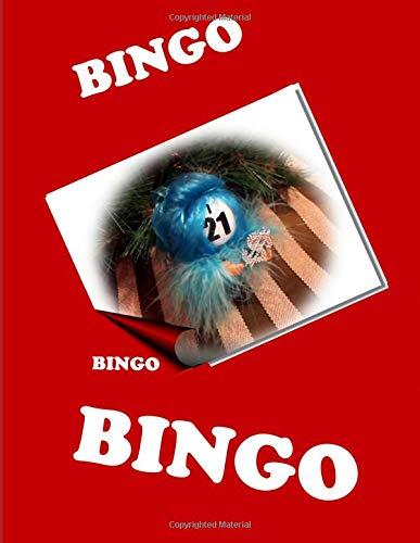 I-21 Bingo!: Bingo Journal Diary with 50 white Dot Grid pages/ 8.5i? x11?/ Sturdy softback glossy cover, featuring an Adorably Decorated Bingo Ball (Volume 1) (Bingo Diaries) por Journal Jargon