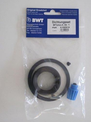 Preisvergleich Produktbild BWT Dichtungssatz Gr. 1 6-090818 für: Wasserfilter Filterhülsen Stützkerze Filter Wasser Ersatz