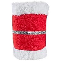 netproshop Weihnachten Bandagen-Gamaschen mit Glitzer für Ihr Pferd (4 Stück)
