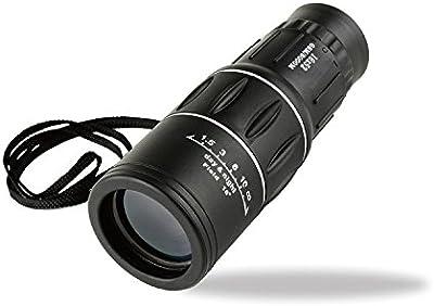 HOOMYA 16x52 Telescopio Monocular Ligero de Doble Foco Impermeable - día y noche de la luz baja visión