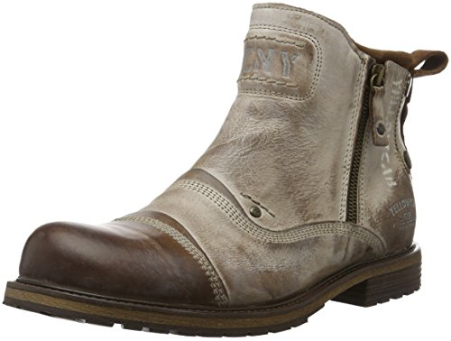 Yellow Cab SOLDIER M Y16106, Stivaletti uomo, Marrone (Braun (Tan)), 44