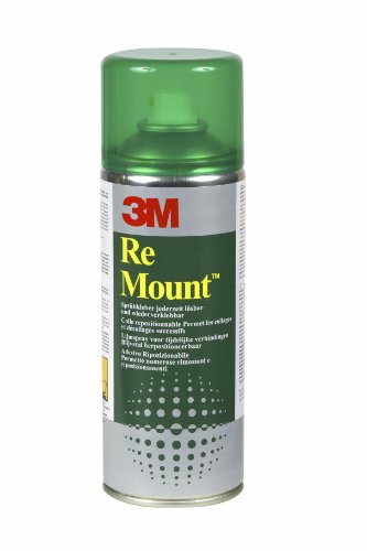 3M YP-2080-6065-4 - RE MONTURA ADHESIVA SPRAY 400 ML LARGA REPOSICIONABLE