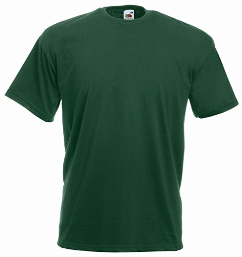 Fruit of the Loom Valueweight T-Shirt Flaschengruen