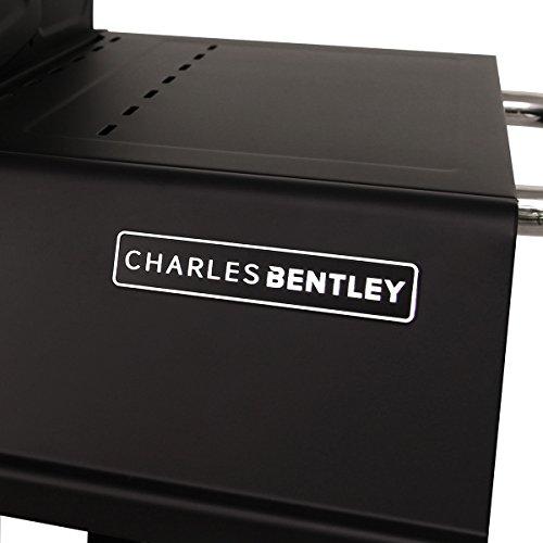 Charles Bentley 3 Burner Hooded Gas BBQ - Black