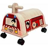Plantoys - Pt3474 - Porteur Camion De Pompiers