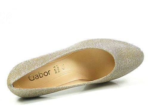 Gabor Damen Fashion Pumps Gold