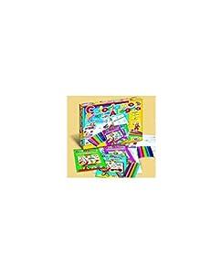 Edición Marca Stell-Juegos Coloriamo de grifol, Multicolor, 086010.37