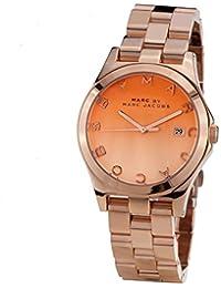 Marc by Marc Jacobs Henry Rose Dorado Acero inoxidable Acero Damas Reloj MBM3152