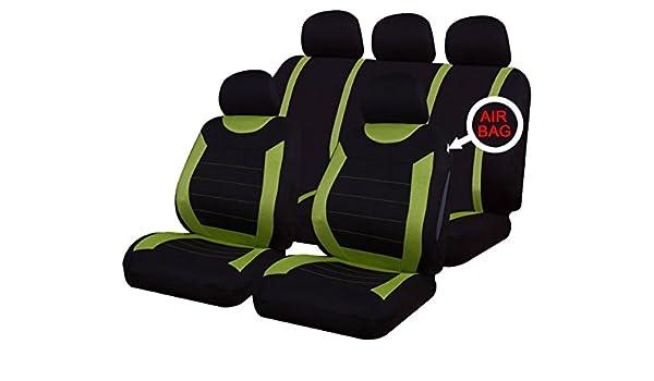 SKODA CITIGO 12-ON Grey Carnaby Luxury Full Set Car Seat Covers