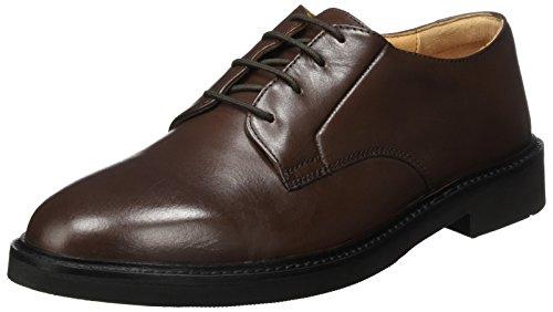 Hudson London Ives, Oxfords Uomo Marrone (Brown)
