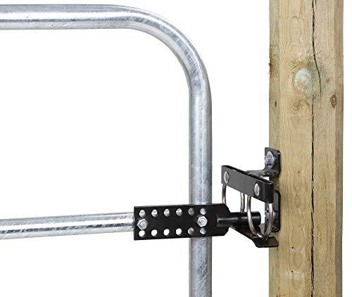 AKO Durchschwingschloss für Weidetore - Öffnen des Tores in Beide Richtungen