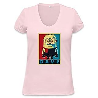 Dave Womens V-neck T-shirt XX-Large