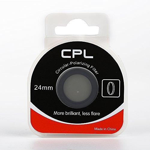 AM-LF86 CPL Filter, magnetisches Zirkular-Polarisationsglas, 24mm