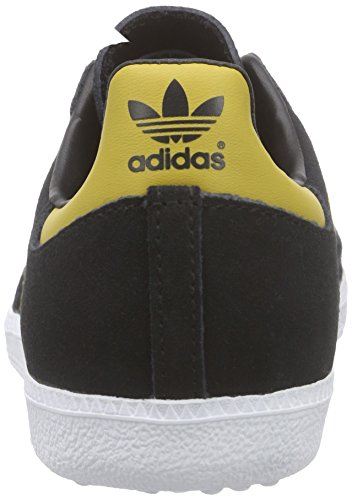 adidas Originals Samba, Baskets Basses mixte adulte Noir (Core Black/Spice Yellow F14-ST/FTWR White)