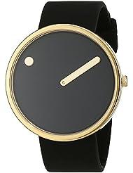 Rosendahl Unisex-Armbanduhr Picto Analog Quarz Kautschuk 1010398510