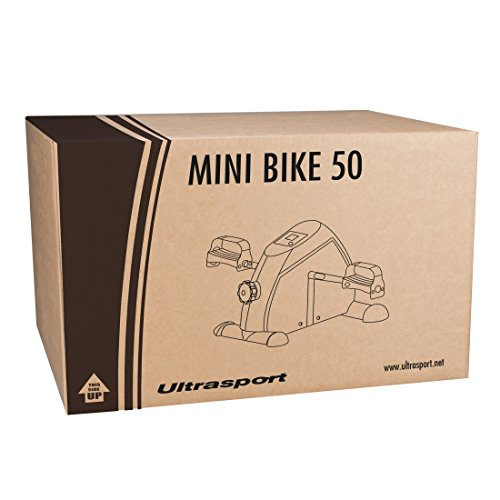 415wlAxDKAL. SS500  - Ultrasport Mini Bike, Arm and Leg Trainer, Minibike, Exercise Bicycles Indoors, Portable Home Pedal Exerciser, Ideal for Strengthening, Ideal Training Device for Seniors and Athletes