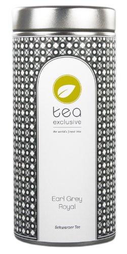 tea exclusive – Earl Grey Royal, Schwarzer Tee, Ceylon, Dose 80g