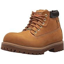 6c591e827f0e6 Skechers Mens Sergeants Verdict Waterproof Leather Walking Boots