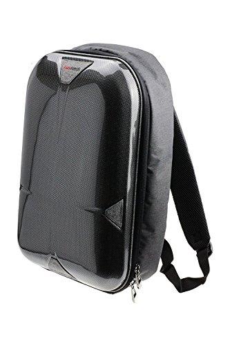 Preisvergleich Produktbild Navitech Schroffer grauer Rucksack / Reise-Fall für das Optoma EH416