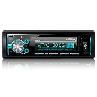 Audicore AC9720 Car radio Bluetooth USB/TF/SD/MMC/RDS Bluetooth Multicolor Panel