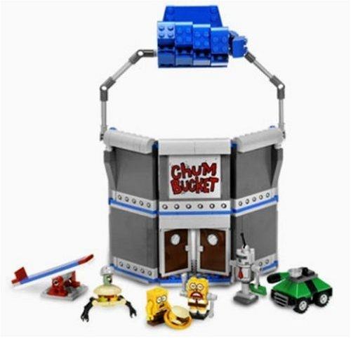 LEGO Spongebob 4981Chum Bucket (Chum Bucket Spongebob)