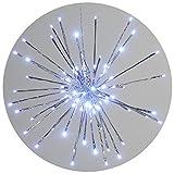 Palla luminosa stella 129 LED, 55 cm, decorazione interna Gartenpirat