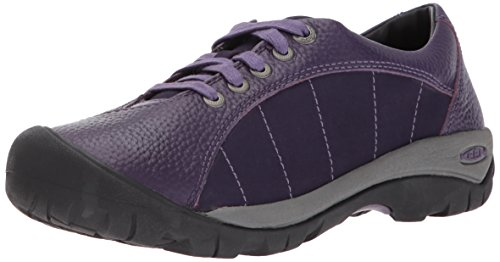 Keen Women's Presidio-w Fashion Sneaker, Purple Plumeria/Montana Grape, 7.5 M US (Presidio Womens Sneakers)
