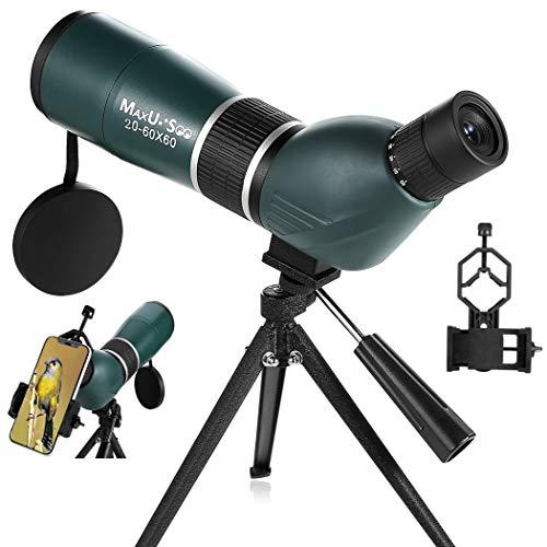 MaxUSee Zoom Spektiv, 20-60 x 60 Zoom