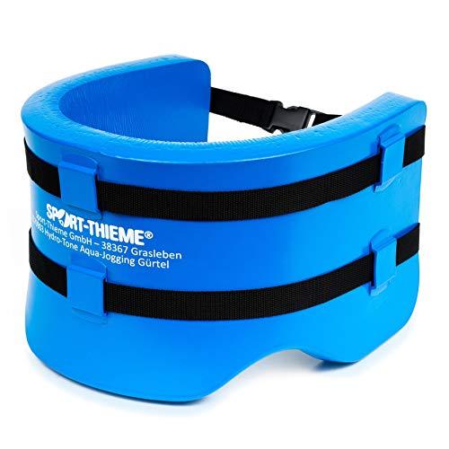 Sport-Thieme Hydro-Tone Aqua Jogging Gürtel   Schwimmgürtel für Aquajogging, Aquafitness   Enganliegend, Flexibel   Snap-In Verschluss   Bis 100 kg   Spezialschaumstoff   Blau   Markenqualität