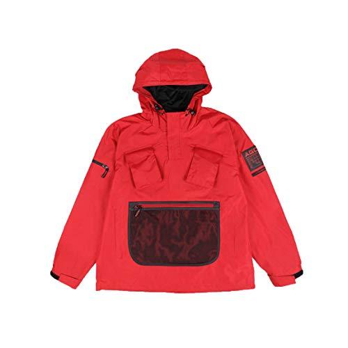 Agora AGC Pathfinder Pullover Jacket Rot (Medium)