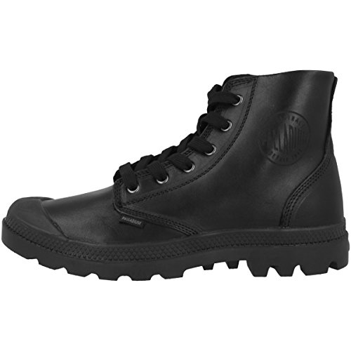 Palladium Pampa Hi Leat H, Baskets mode homme black (02355-001)