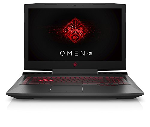 OMEN by HP 17-an000ng (17,3 Zoll / Full HD IPS) Gaming Laptop (Intel Core i5-7300HQ, 1 TB HDD, 8 GB RAM, NVIDIA GeForce GTX 1050 2 GB, Windows 10 Home) schwarz