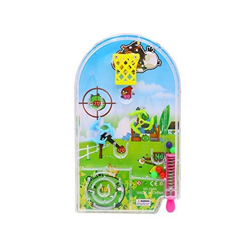 Homiki Sungpunet pädagogisches Spielzeug für Kinder Taschen Pinball Machine Lernspielzeug Random 1 PC - Bid-tag-taschen