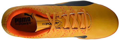 Puma Herren Evopower Vigor 4 IT Fußballschuhe Orange (Ultra Yellow-Peacoat-Orange Clown Fish 03)
