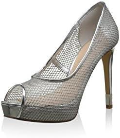 Guess Zapatos Peep Toe Plata EU 40