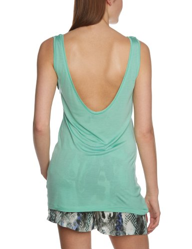 Gestuz Jones Print Top So 14 Design - Débardeur - Femme Vert - Grün (Dusty Jade Green)