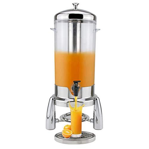 Macchina per bevande self-service in acciaio inox - distributore di bevande per bevande fredde/erogatore di acqua per barili di birra 5l, adatto per buffet party hotel