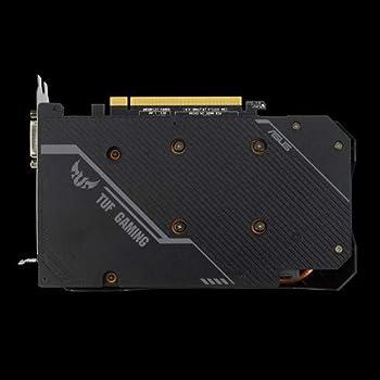 ASUS TUF Gaming NVIDIA GeForce GTX 1650 SUPER OC Edition, Scheda Video Gaming, Dissipatore Biventola, 4 GB GDDR6, HDMI, DisplayPort, DVI-D per Gaming FullHD