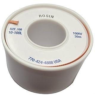 Aerzetix: Tape of Desoldering Braid , Solder Wick Copper Band, 2.54mm/30m, Rosin flux , C13446
