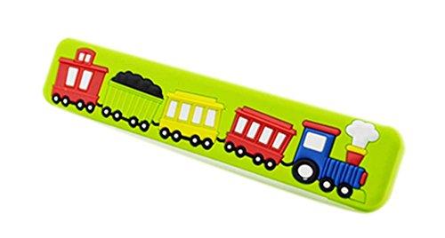Preisvergleich Produktbild 4PCS schöne Kinder Türgriffe Schublade GRÜN Auto-Muster Griffe